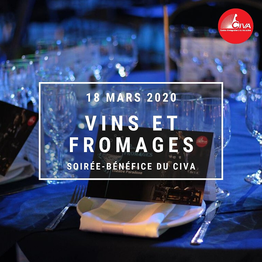 REPORTÉ - Soirée-bénéfice du CIVA, Vins et Fromages