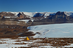 Labyrinth and Lower Wright Glacier, Antarctica