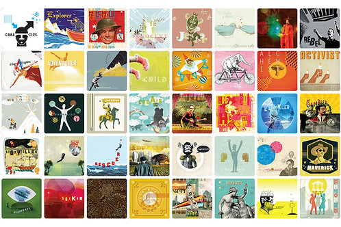 Digital Downloads: Archetypes in Branding Card Deck Images