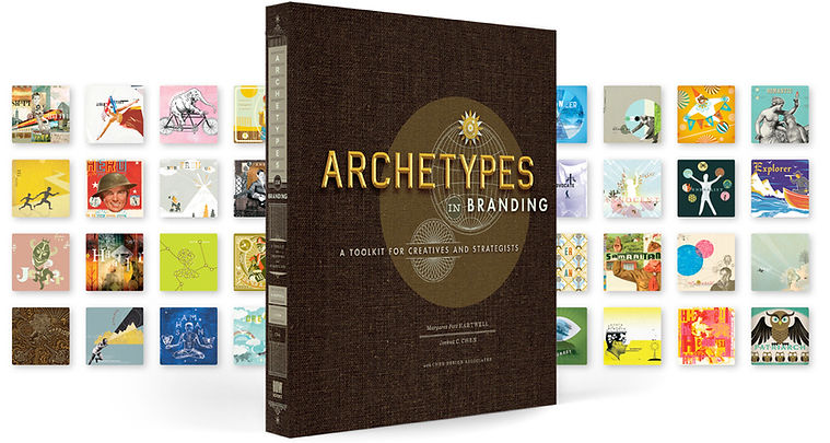 archetypes in branding book cards