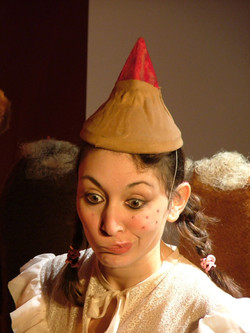 "Lili du spectacle ""D'oeuf en oeuf"""