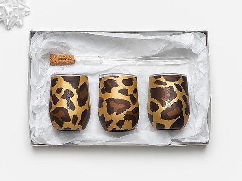 Leopard Corkcicle Stemless