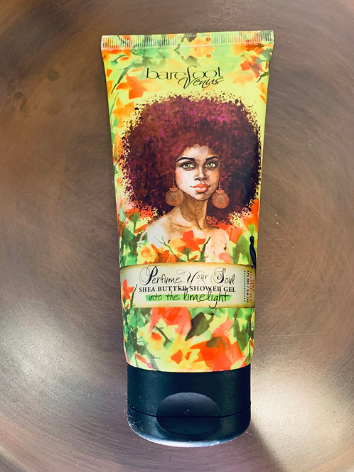 Barefoot Venus Limelight Shea Butter Shower Gel