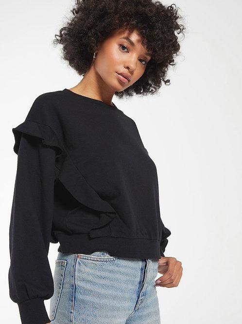 Freya Ruffle Sweater