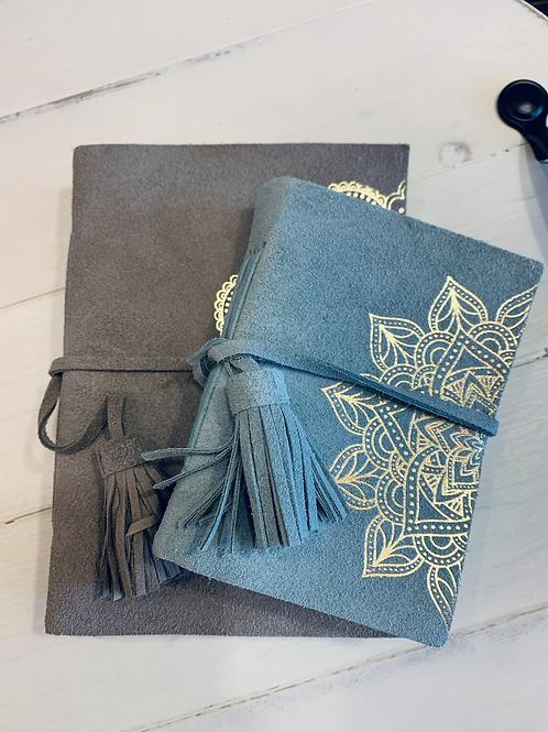 Suede Mandala Journals