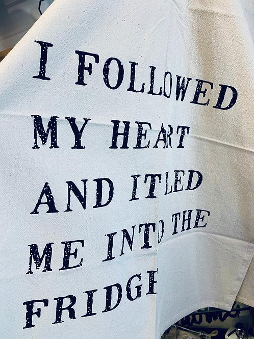 Fridge Tea Towel