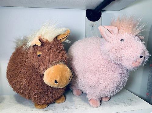 Rolbie Pig & Rolbie Pony by Jellycat
