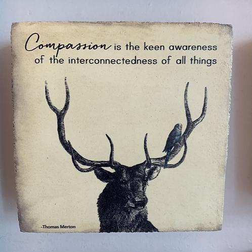 Compassion Small Cedar Mountain Tile