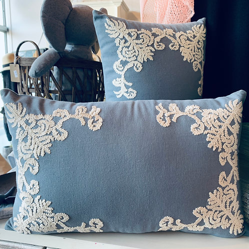 Embossed MudPie Pillows
