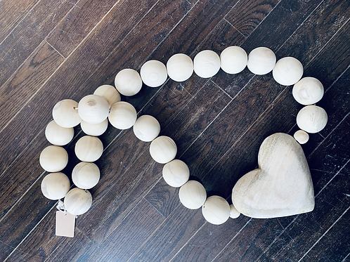 Large Heart Beads