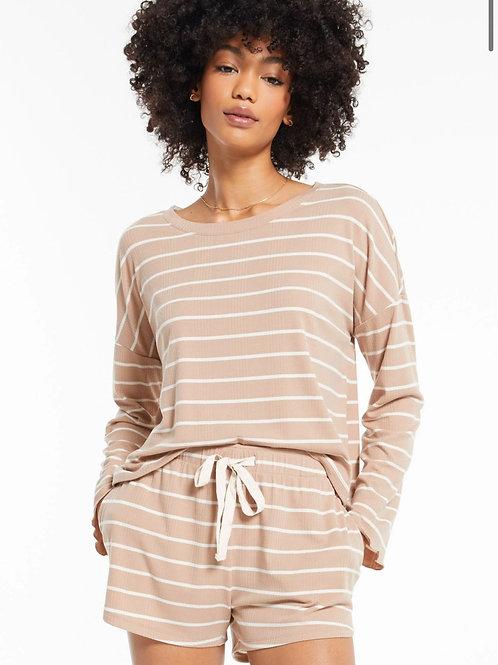 Betty Stripe Long Sleeve Top ZSupply