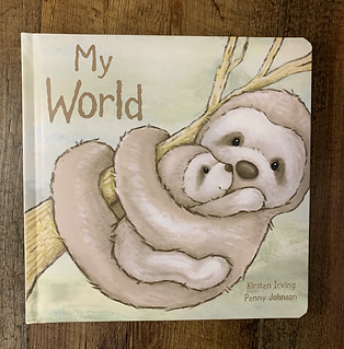 My World Sloth Book by Jellycat