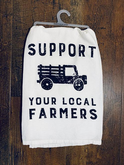 Farmers Tea Towel