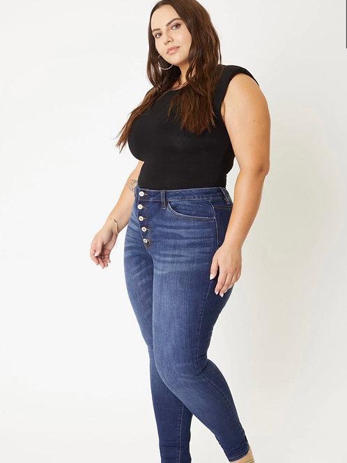 Clara High Rise Super Skinny Jeans - Plus