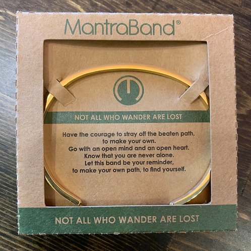 Not all Who Wander MantraBand