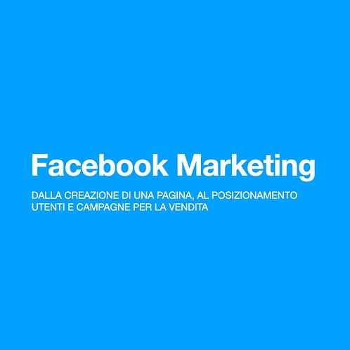 Corso Facebook vendita marketing