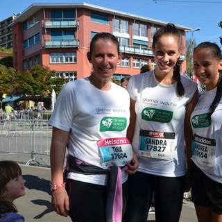 Tina, Sandra &Andrea Greifenseelauf 2014