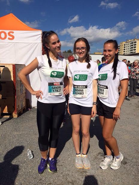 Moana&Andrea Greifenseelauf 2014