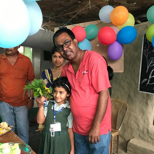 Biplab,Indrani&Students