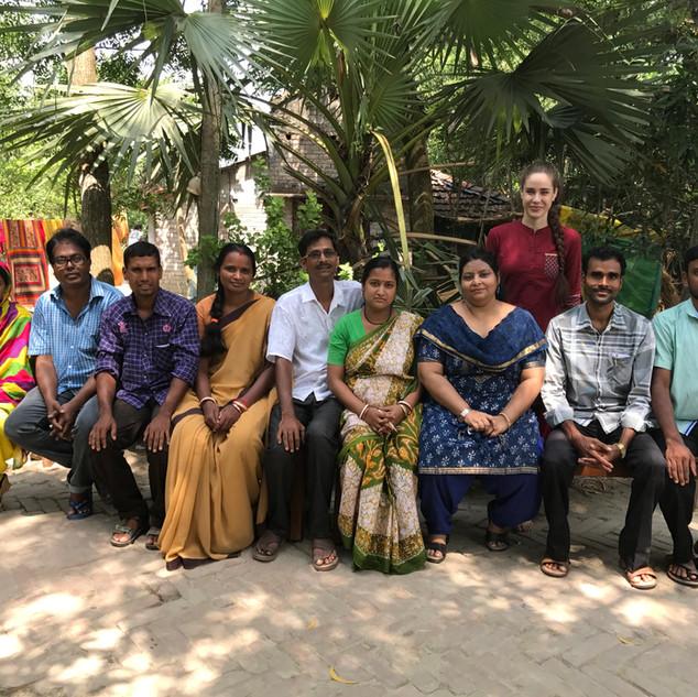 Teachers&local Management Team
