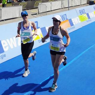 Patrizia&Sandra-Triathlon 2013