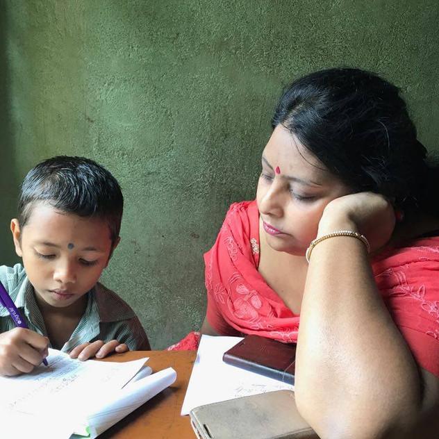Madhumita&Student