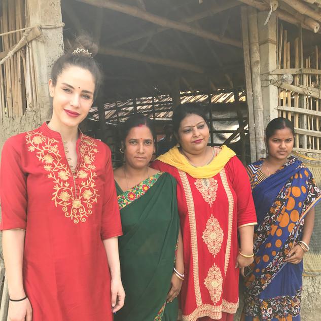 Sandra, Sabita, Madhu