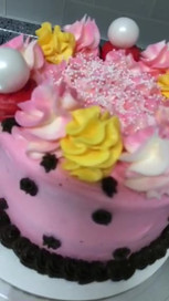 Custom Frosted Cake