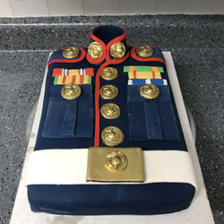 Custom Groomsman's Cake