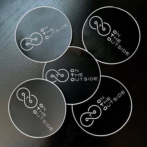 OTO ~ Official Logo Stickers (Set of 5)