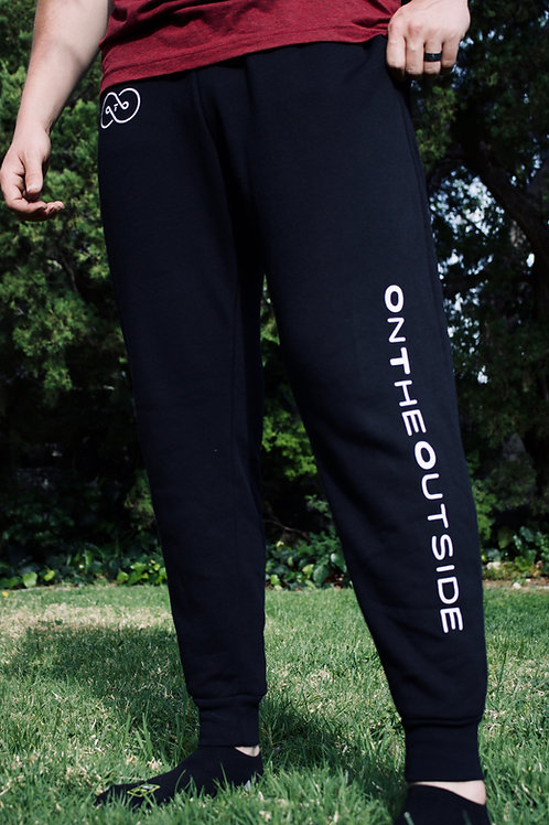 OTO ~ Official Band Joggers [White Logo]