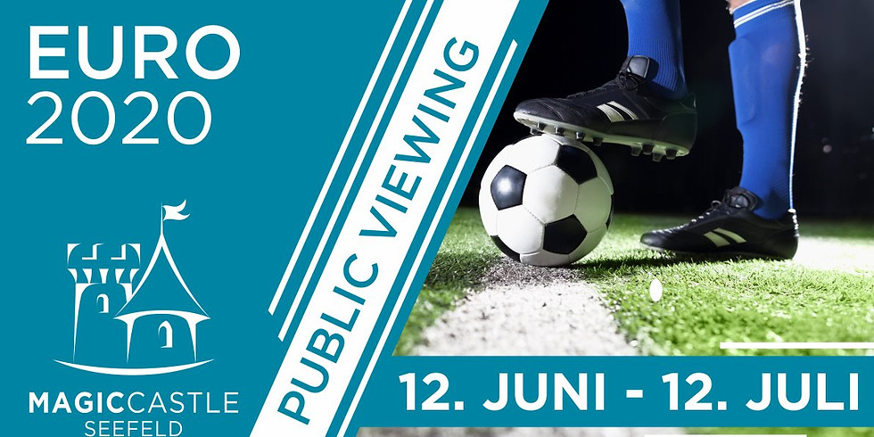 Euro 2020 | Public Viewing Area - Sound & Drinks!