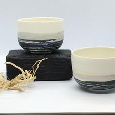 Tasse porcelaine décorée