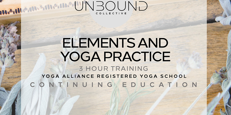 Elements and Yoga Practice