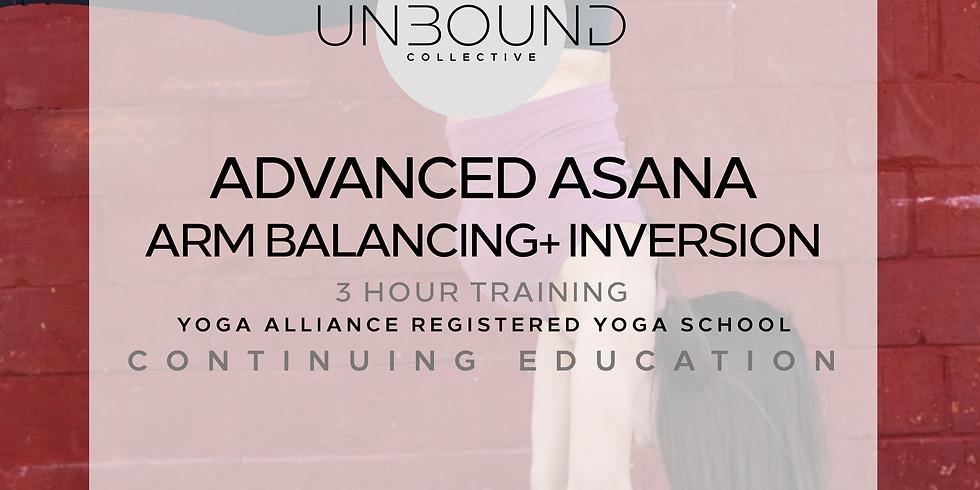 Advanced Asana: Inversions and Arm Balances