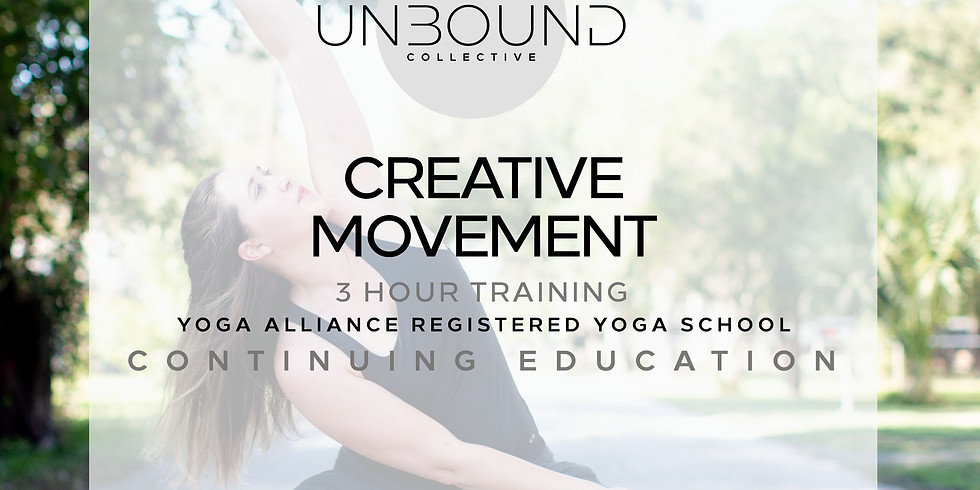 Creative Movement for Yoga Teachers