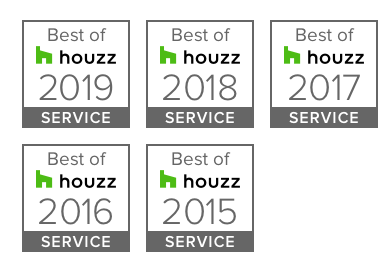 Linden Kitchen & Bath Wins 'The Best of Houzz Awards' 5-Years Straight