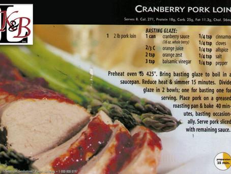 Cranberry Pork Loin