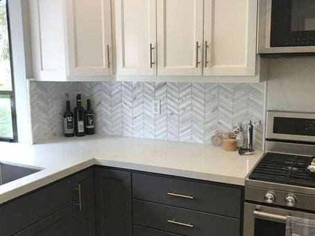 Two Toned Trends & Custom Cabinetry for Kitchens