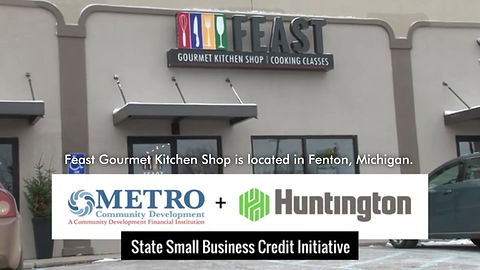 Feast Gourmet Kitchen Shop video