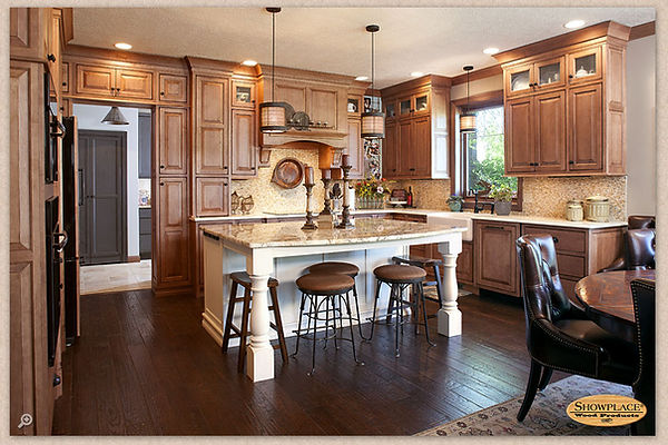 Showplace cabinets