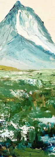 Landscape Series I. Acrylic.
