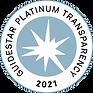 Guidestar Platinum Transparency 2021 Logo