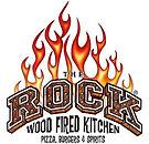 the rock pizza logo