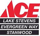 Ace Hardware Lake Stevens Evergreen and Stanwood logo