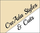 CreAda styles and cuts logo