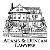 Adams and Duncan Lawyers Logo