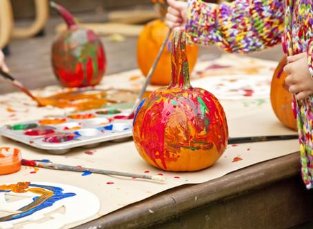 Pumpkin Play! Games/Crafts Your Toddler Will Enjoy