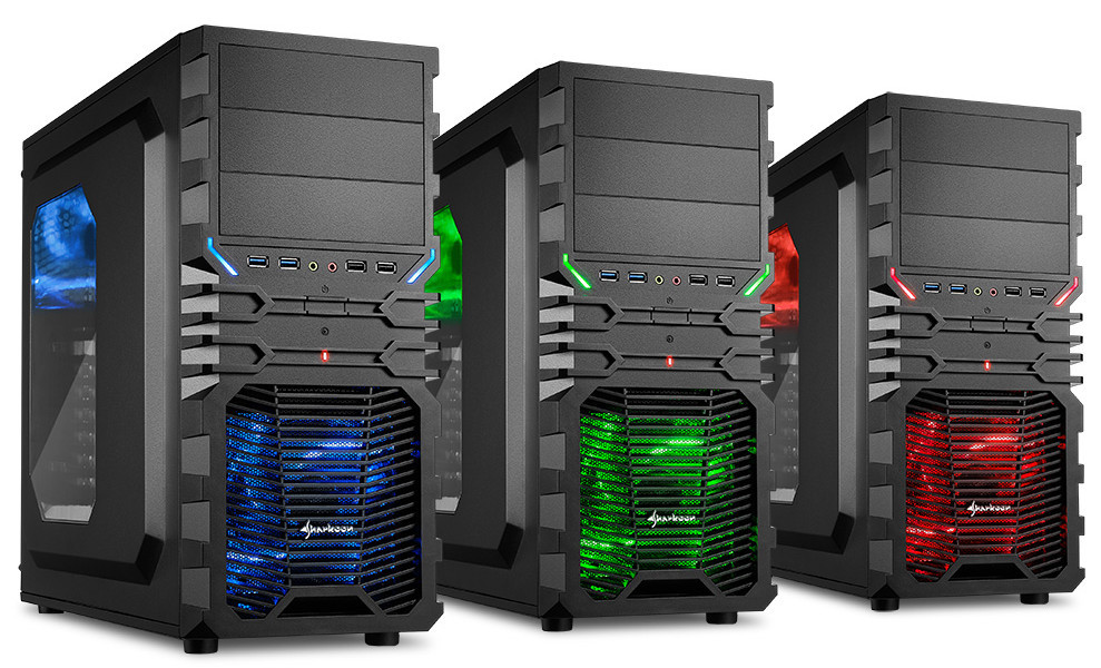 Sharkoon offer includes, among others, PC cases