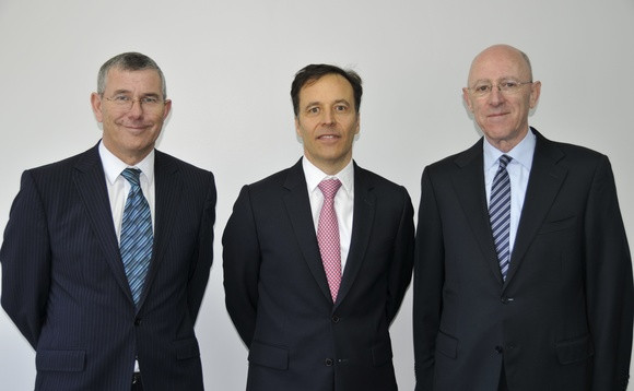 Pro-Vision's Brian Munday, EET Europarts' Simon Smith and Pro-Vision's Peter Ford